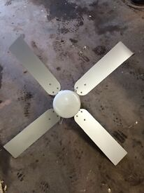 Ceiling fan and light unit