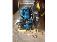 Perkins 4108 Marine Engine with PRM Gearbox