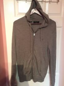 ALLSAINTS HOODY, WAS 120£ ONLY £20!!! SIZE LARGE