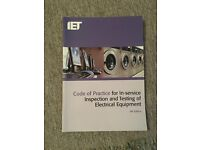 Code of practice for In-service Inspection and testing of electrical equipment book
