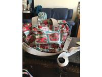 Cath Kidston London bus changing bag