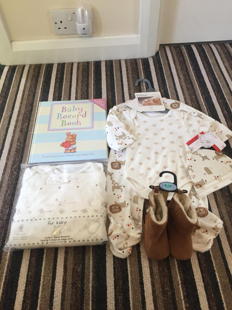 Baby bundle clothes neutral brand new