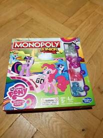 My Little Pony Junior Monopoly-excellent condition