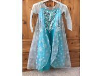 Disney Store Frozen Elsa Dress age 7-8
