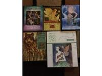 Oracles cards and spiritual books