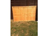 6x4 fence panel ,New and unused