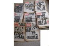 100 Melody Maker music magazines from the 1970s - over 6000 pages of musical history