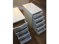 7 x IKEA Desk Drawers/ Cupboards for a Bargain!