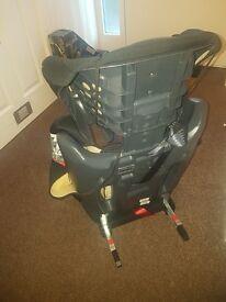Kiddicare car seat (isofix)