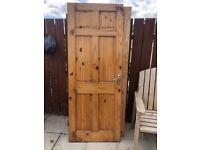 3 Internal doors solid pine