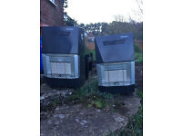 Portable 2 gas heaters (Alvima)