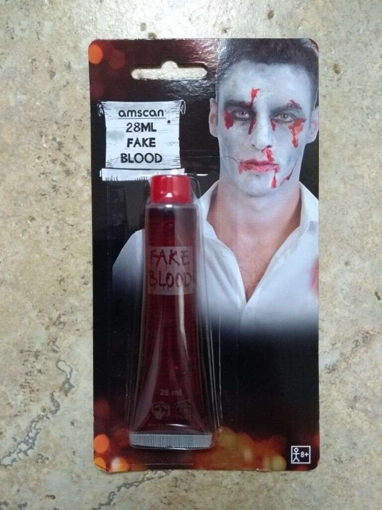 New Amscan Halloween Party Childrens Dress Up Fake Blood 28ml In Norwich Norfolk Gumtree