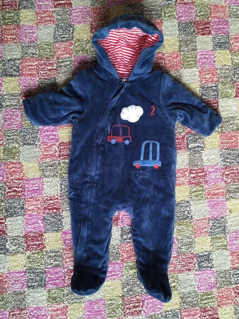 44ae2e049 Pram suit boys 3-6m