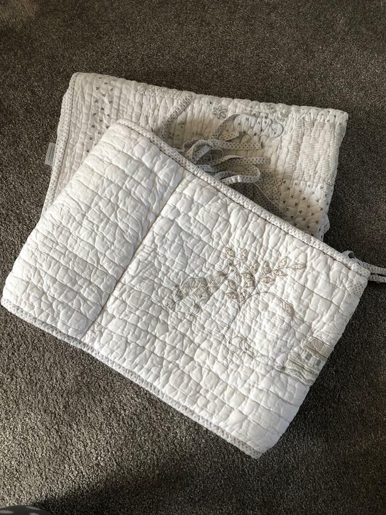 Little White Company - Baby quilt and Cot bumper | in Doncaster, South  Yorkshire | Gumtree