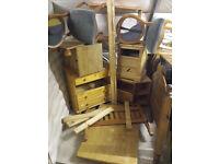 Always needed ,broken,damaged furniture.newry area.