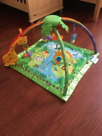 Fisher Price Rain forest play matt