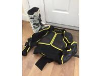 Motorcross body armer and boots for sale