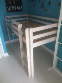 Cabin bed in very good condition, partly disassembled for transportation. Easy to reassemble.