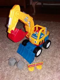 Wow toys. Dexter the Digger. Excellent condition.