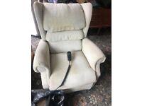 Electric Lift & Tilt Recliner chair