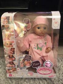 New baby Annabelle interactive doll- BNIB