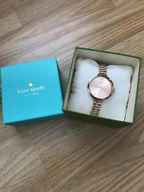 Rose Gold and Silver Kate Spade Watch