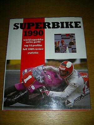 Superbike 1990 WSB HB Book Fred Merkel Raymond Roche RC30