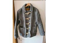 Superdry Mens Wool Duffle Coat Jacket - Size Large - Like New