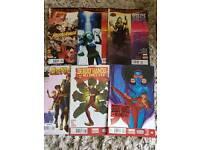 Marvel comics and book