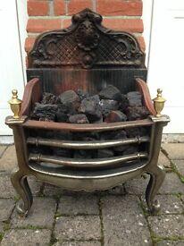 Basket Style Gas Fire