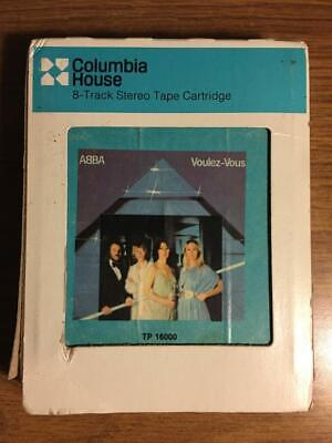 ABBA VOULEZ-VOUS VINTAGE RARE 8 TRACK TAPE TESTED LATE NITE BARGAIN!