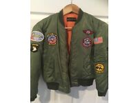 """Top Gun"" US Navy child's flight jacket"