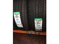 225/55/17 97W XL BRAND NEW TYRE GOODRIDE 2255517