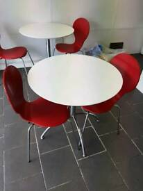 Brand new tables and chairs