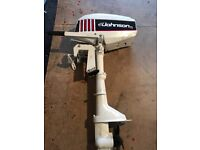 2.3hp outboard engine ideal boat aux