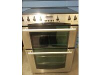 Belling double oven 60cm ceramic cooker