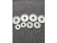 27.5KG OLYMPIC STRENGTH SHOP WEIGHT PLATES