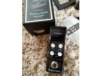 Joyo Space Verb Ironman, delay / reverb effect pedal. New other