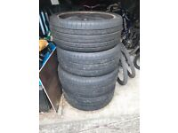 Tyres and rims x4