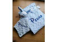 Personalised Embroidered Blanket and Comforter Set