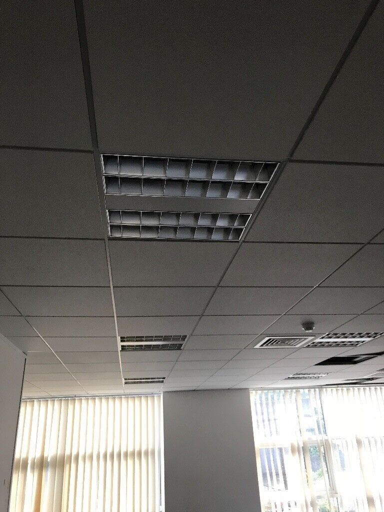 Ceiling Tiles With Tracks Frames Lights In Uxbridge London