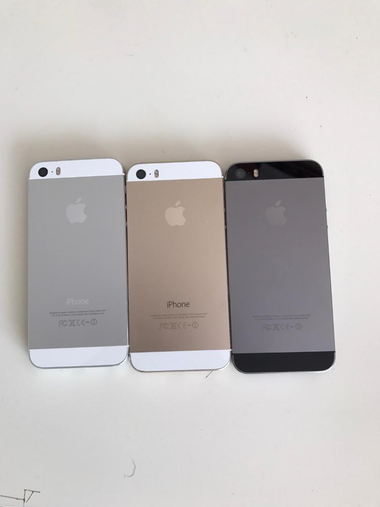 Apple IPhone 5s 16gb and 32gb. Good condition