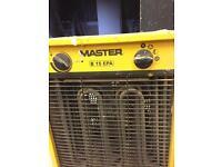 Industrial workshop heater