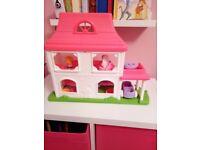 Fisherprice little people dolls house