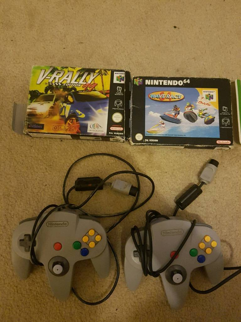 N64 pads and games