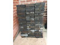 200 Charcoal block pavers