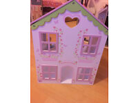 *** Final Reduction *** Small Dolls House, excellent condition, W40cm x H52cm x D25cm. Collect Only