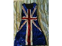 UNION JACK DRESS SIZE 10