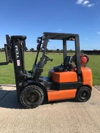 Tcm gas forklift truck (more available)