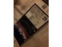 2 tickets to see ELO this Saturday (24th) at Wembley, London.
